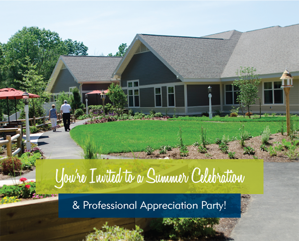 You're Invited to a Summer Celebration & Professional Appreciation Party!
